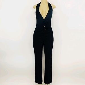 Moda International Jumpsuit Black